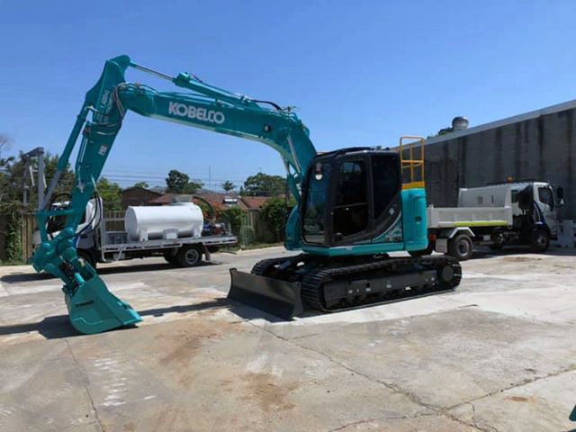 Kobelco SK135SR5 Tier4 Final machines delivered | Excavators