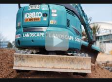 Landscape Solutions Kobelco Customer Video