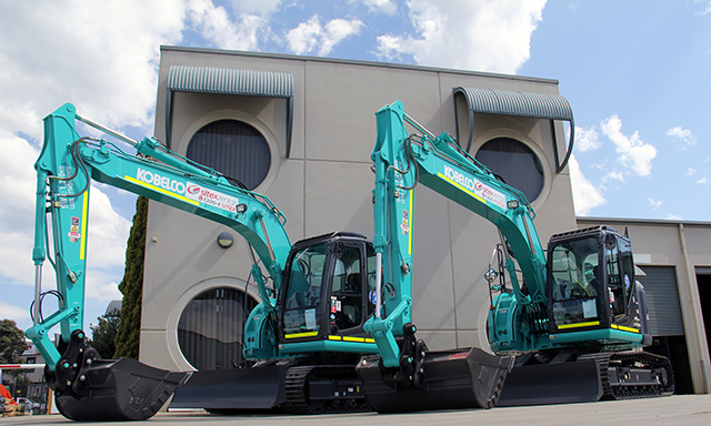Sitex service counts on Kobelco
