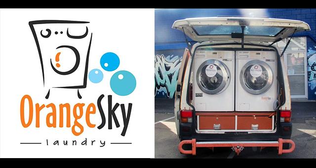 Kobelco Donates $5000 to Orange Sky Laundry