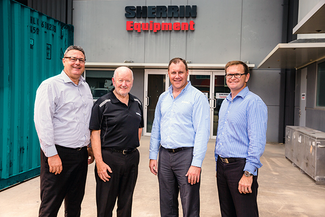 Sherrin Equipment signs on Kobelco Excavators