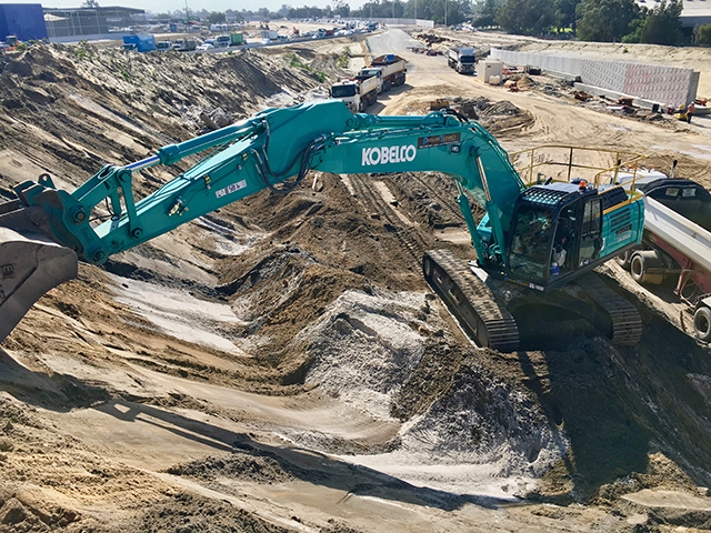 Kobelco at the forefront of technology