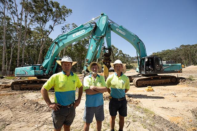 Kobelco excavators up for any job, big or small