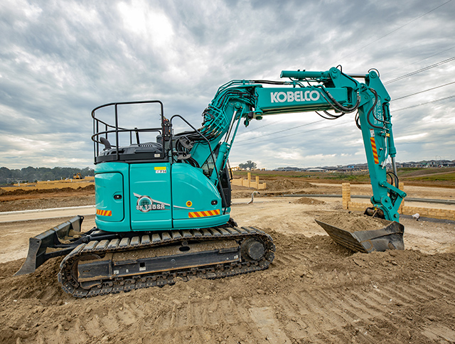 Kobelco gets the job done for TRN Group