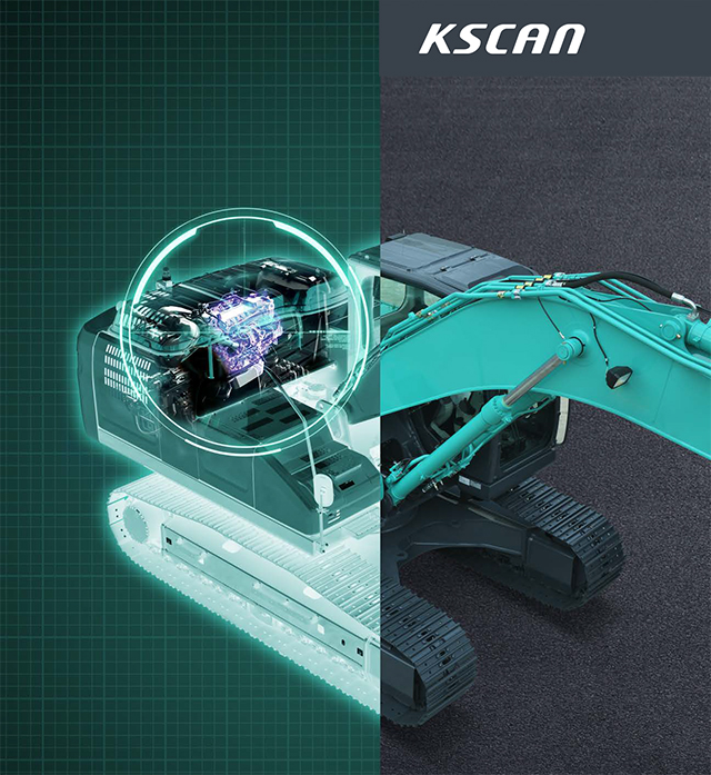 K – SCAN - Kobelco's unique preventive maintenance system