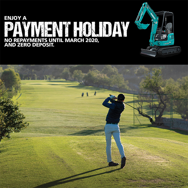 Time is running out to take advantage of a Payment Holiday!