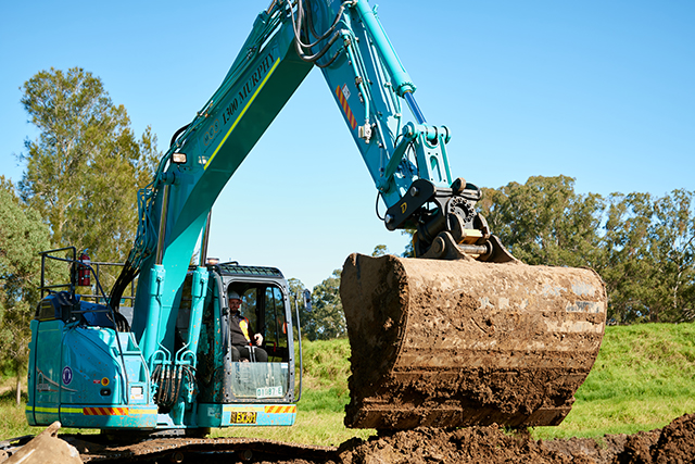 MCS CIVIL AND KOBELCO