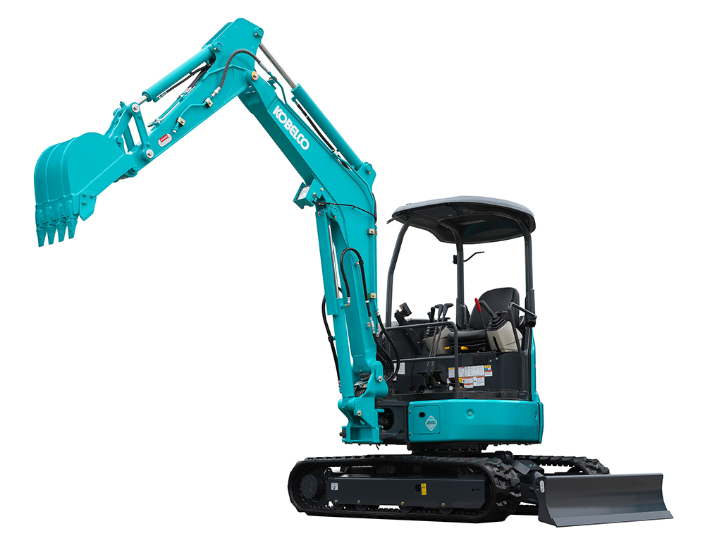 The Kobelco mini excavator is a safe, fuel efficient and powerful mini diggers. Combining our 80 years experience in earthmoving equipment.