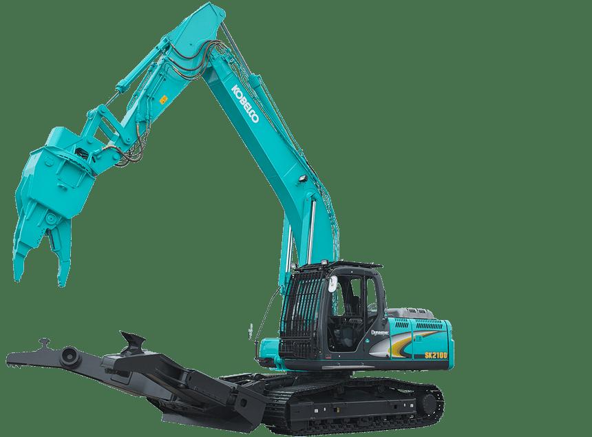 Recycling Excavators | Kobelco Recycling Excavators
