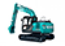 A Kobelco mini excavator that combines safety, fuel efficiency, comfort a power into a single versatile mini digger.